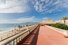 Lyxobjekt: Portixol/ Es Molinar, Palma de Mallorca: Fantastiskt sommarresidens vid havet i Molinar.