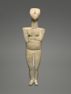 Cycladic Reclining FemaleFigure Attributed to the Israel Museum Sculptor, circa 2600 BCE