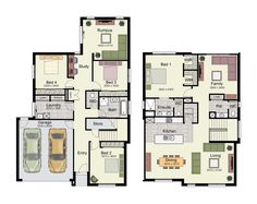 High Quality Image Result For Efficient 2 Story House Floor Plan Inverted