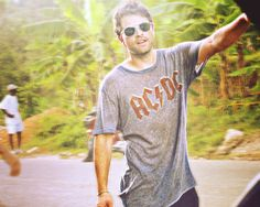 I want THIS ACDC Tshirt. If Misha comes along with it, I definitely wouldn't mind.