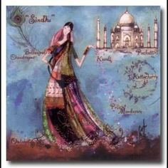 "Catherine Rebeyre : ""Sindhu"" Art Carte, Magic Women, Silhouette, Childhood Memories, Decoupage, Fantasy, Sculpture, Artist, Photographs"