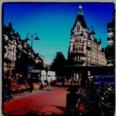 Stockholm, at Stureplan.