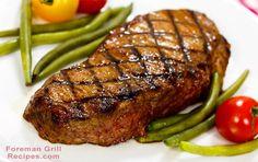 Foreman Grill New York Strip Steak