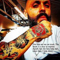 Justin furstenfeld tattoos