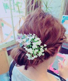 結婚式お呼ばれ髪型ボブ(ショートボブ・ロブ)50選♡アップ、ハーフアップ、ダウンスタイルの画像 | 美人部