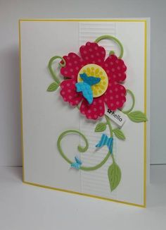 Mixed Bunch - Spring Banner by whippetgirl - Cards and Paper Crafts at Splitcoaststampers