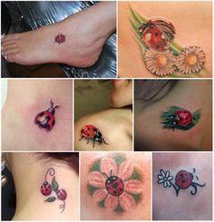 Significado das tatuagens de joaninha - http://fotosdetatuagensfemininas.com/significado-das-tatuagens-de-joaninha/