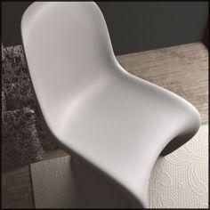 panton chair vray