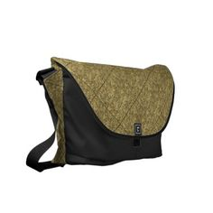 Gold Foil Design Messenger Bag. Made in the USA now  30% OFF ALL CASES! www.leatherwooddesign.com #zazzle