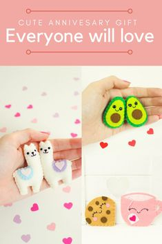 Avocado Keychain for Couples. Keychain for boyfriend. F… - DIY Gifts Simple Ideen Sewing Projects For Kids, Craft Projects, Felt Projects, Kids Crafts, Felt Keychain, Felt Gifts, Sewing To Sell, Avocado, Anniversary Gifts For Him