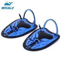 Whale 1 Paired Adjustable Swimming  Paddles Fins Swim Pool Diving Neoprene Hand Gloves for Men Women