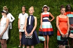 reds, whites, and blues at Kate Spade Spring 2014