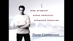 David Copperfield The Sound of Magic Illusion DVD Menu …
