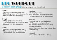 Leg Workout from eat:watch:run