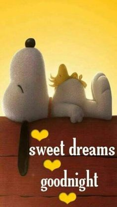 """Good Night Quotes and Good Night Images Good night blessings """"Good night, good night! Parting is such sweet sorrow, that I shall say good night till it is tomorrow."""" Amazing Good Night Love Quotes & Sayings Snoopy Love, Charlie Brown Y Snoopy, Snoopy And Woodstock, Baby Snoopy, Cute Good Night, Good Night Sweet Dreams, Good Night Image, Good Morning Good Night, Good Night Beautiful"""
