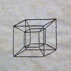 Geometric Tesseract: A Wrinkle in Time