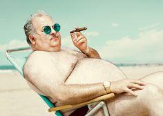 Man of the Beach by Dean Bradshaw