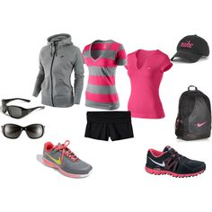 """workout gear"" by katedehoyos on Polyvore"