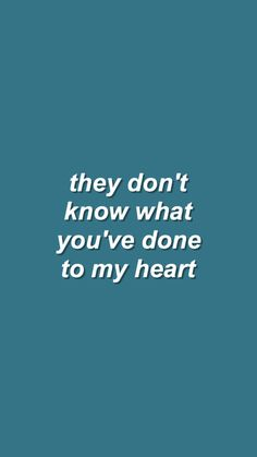 they don't know about us // one direction