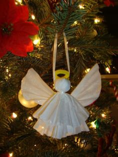 Coffee filter angels christmas craft you can make yourself angels turned to design holiday diy projects coffee filter angels solutioingenieria Choice Image