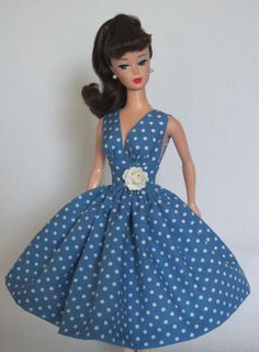Summer Sizzle Vintage Barbie Doll Dress Reproduction Repro Barbie Clothes | eBay