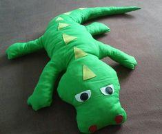 Crocodile pillow