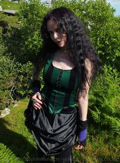 Taurielain Bodice by Moonmaiden Gothic Clothing UK
