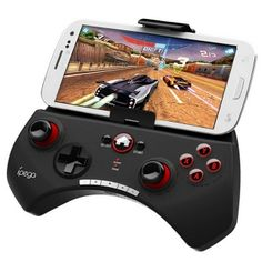 Universal iPega Wireless Bluetooth Gamepad Game Controller for iPhone/Cellphone/Tablet PC Black