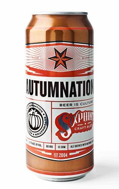 Can and packaging design for Sixpoint Brewery's four packs, designed by Lefty Lexington. Australian Beer, Beer Cellar, Craft Ale, Beer Club, Beer Label Design, Beer Art, Beers Of The World, Beer Brands, Bottle Packaging