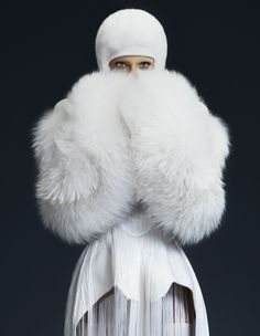 Key looks for autumn 'Winter white' | Josephine Skriver | Andrew Yee #photography | How To Spend It