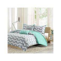 Intelligent Design Peyton Bed Set, Turquoise/Blue (Turq/Aqua)