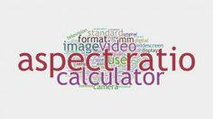 Aspect Ratio, Calculator