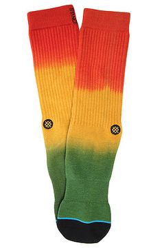The Nesta Socks in Rasta by Stance Socks