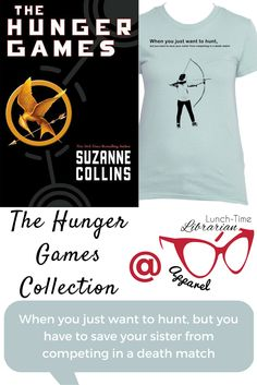 Would you want to give up a carefree life of starving slowly and hunting in the midst of barely concealed sexual tension to participate in a death match? I wouldn't. But Katniss doesn't have a choice. That's why siblings are the worst. Express years of repressed sibling resentment with this Hunger Games women's t-shirt.
