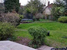 'Before' photo - looking north-east from existing new patio