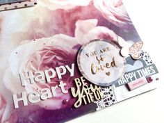Kitaholic Kits - Scrapbooking Layout with Virginia Virginia, March, Layout, Kit, Happy, Projects, Mountain, Scrapbooking, Design