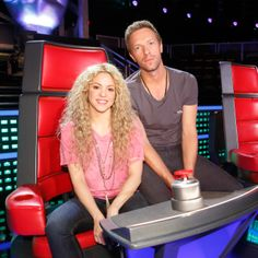 Was so cool to have Chris come hang out with Team Shakira! Shak