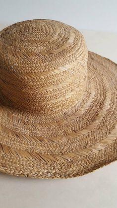 c887c77b4a3cd 19th c. painted straw man s wide brim hat. google