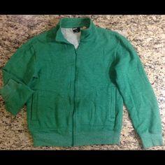 Medium green BDG zipper cardigan in EUC Medium green BDG zipper cardigan in EUC.  60/40 cotton/polyester No issues and NO TRADES. BDG Sweaters Cardigans