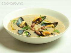 Crema di fagioli e cozze: Ricette di Cookaround   Cookaround