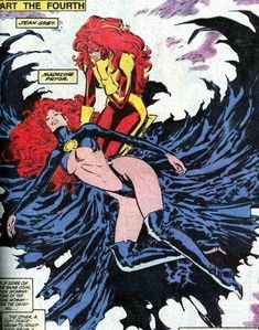 Jean Grey and Madelyne Pryor by Marc Silvestri classic Comic Book Artists, Comic Artist, Comic Books Art, Marvel Girls, Comics Girls, Comic Movies, Comic Book Characters, Book Cover Art, Comic Book Covers