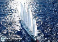 PHOCEA Yacht Photos - 246ft Luxury Sail Yacht for Charter