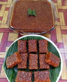 RESEPI WAJIK GULA MERAH 🍎 bahan1* Indonesian Desserts, Indonesian Cuisine, Asian Desserts, Malaysian Dessert, Malaysian Food, Coconut Desserts, Homemade Desserts, Food Cakes, Mie Goreng