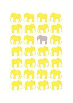 """elephants via """"A Place For Art"""""""