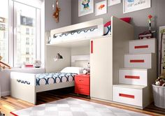 Modern Rimobel Bunk Bed with Bedside Cabinet, Wardrobe and Steps - See more at: https://www.trendy-products.co.uk/product.php/8357/modern_rimobel_bunk_bed_with_bedside_cabinet__wardrobe_and_steps#sthash.FQm6OCFe.dpuf