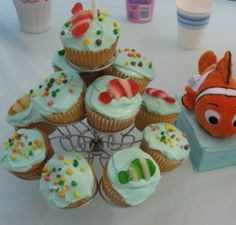 Cute food ideas for a Finding Nemo party