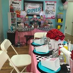 1950's Sock Hop Birthday Party Ideas | Photo 1 of 20 | Catch My Party