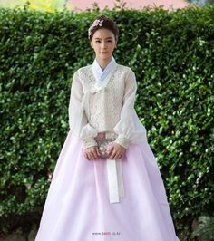 Gorgeous fusion bridal 한복 Hanbok / Traditional Korean dress