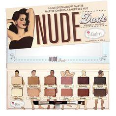 theBalm Nude 'dude Eyeshadow Palette, Multi