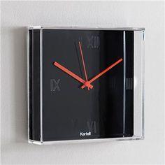 Kartell Tic Wall Clock Modern Clocks, Contemporary Clocks from SWITCHmodern #Clock #Modern #Decor